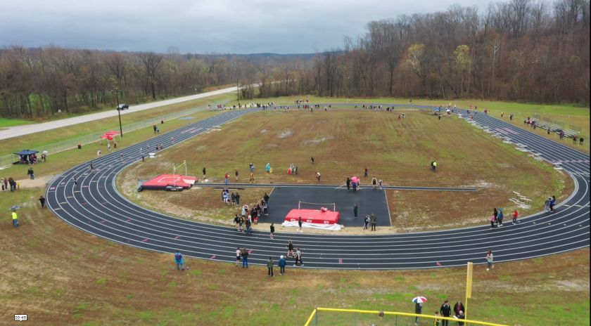 Track & Field Ribbon Cutting Ceremony